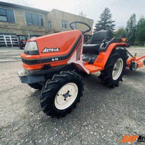 Lietots traktors kubota a14