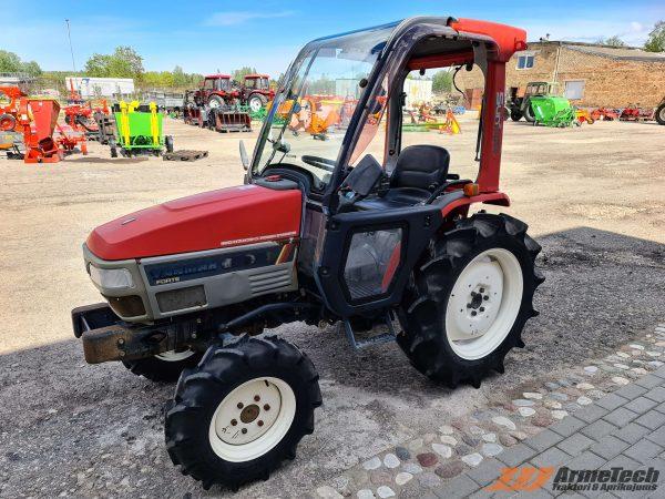 Lietots minitraktors Yanmar F250