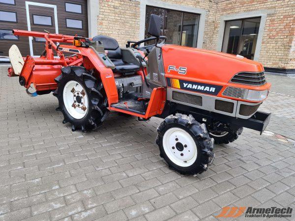 Lietots minitraktors Yanmar F5